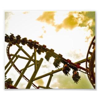 Roller coaster fotografía