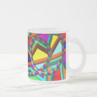 Roller Coaster Frosted  Mug