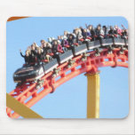Roller Coaster high thrill Mousepad