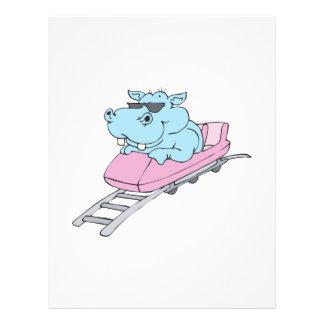 roller coaster hippo flyer