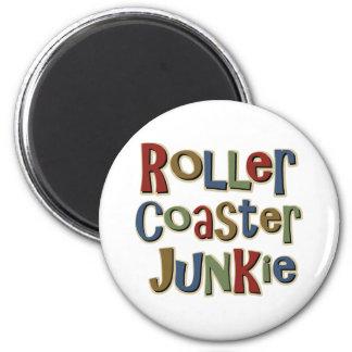 Roller Coaster Junkie Magnet