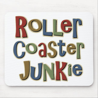 Roller Coaster Junkie Mouse Pad