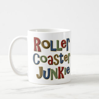 Roller Coaster Junkie Classic White Coffee Mug