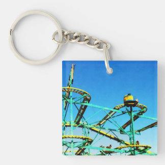 Roller Coaster Keychain