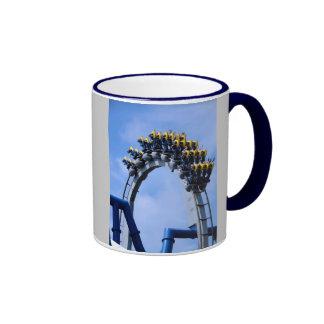 ROLLER COASTER RINGER COFFEE MUG