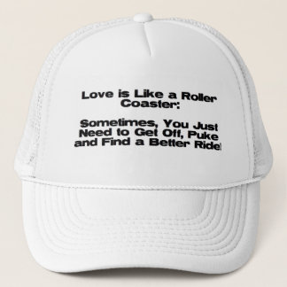 Roller Coaster of Love Trucker Hat