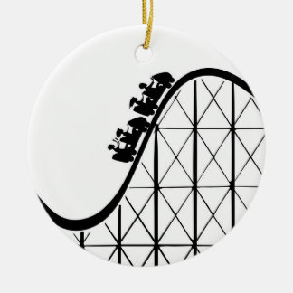 Roller Coaster Christmas Tree Ornaments