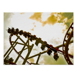 Roller coaster posters