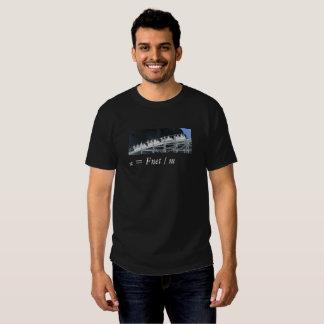 Roller Coaster Physics Tee Shirt