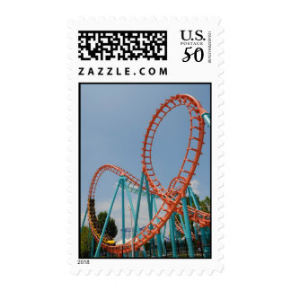 roller coaster postage