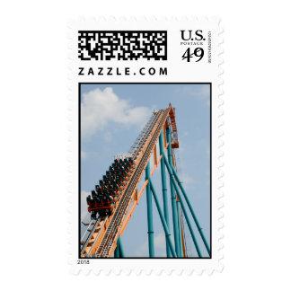Roller Coaster Postage Stamps