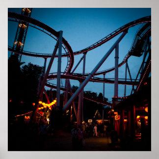 Roller coaster póster