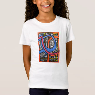Roller Coaster Ride-Abstract Art TShirt