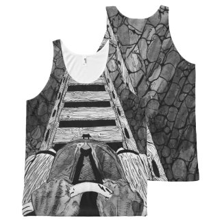 Roller coaster ride All-Over-Print tank top
