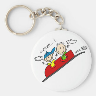 Roller Coaster Ride Tshirts and Gifts Keychain