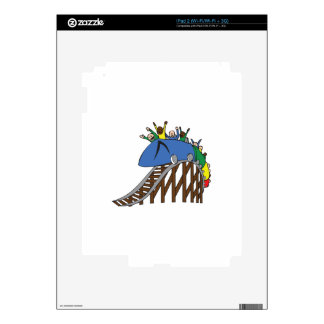 ROLLER COASTER SKINS FOR THE iPad 2
