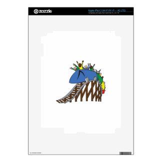ROLLER COASTER SKIN FOR iPad 3