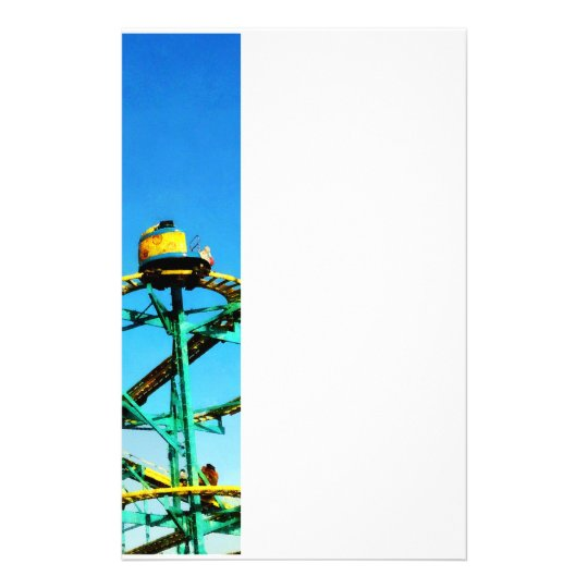 Roller Coaster Stationery