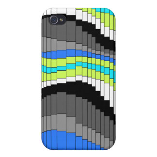 Roller Coaster Striped  iPhone 4 Covers