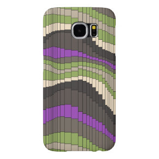 Roller Coaster Striped Psychedelic Samsung Galaxy S6 Case