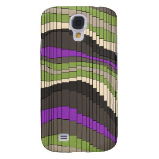 Roller Coaster Striped s Galaxy S4 Cases