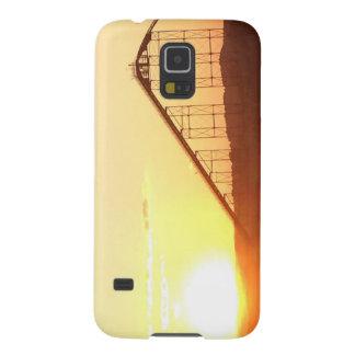 Roller Coaster Sunset Galaxy S5 Case