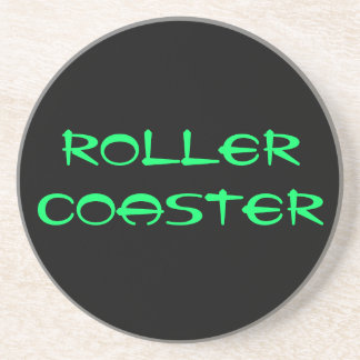 ROLLER COASTER TABLE COASTER