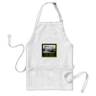Roller Coaster The Pike Adult Apron