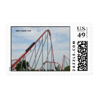 Roller Coaster Thrill Postage