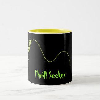 ROLLER COASTER Two-Tone COFFEE MUG