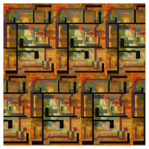 Roller Dam Abstract Fabric