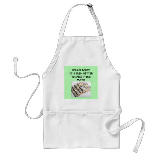 roller derby adult apron
