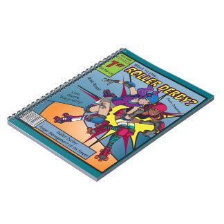 Roller Derby Comic notebook