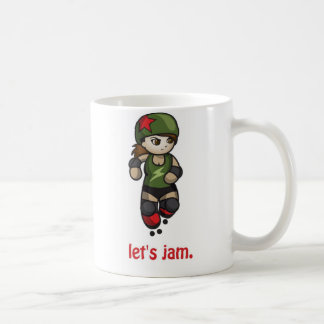 Roller Derby Cute Dinky Jammer Mug by Startle