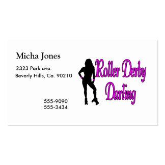 Roller Derby Darling Business Card