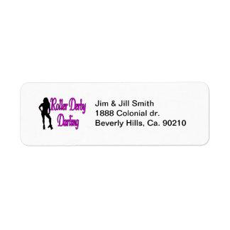 Roller Derby Darling Label