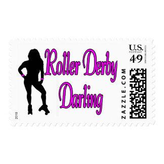Roller Derby Darling Stamps