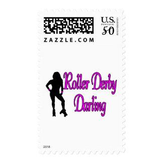 Roller Derby Darling Postage