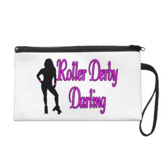Roller Derby Darling Wristlet