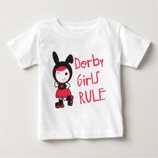 Roller Derby - Derby Girls Rule Baby T-Shirt