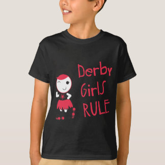 Roller Derby - Derby Girls Rule T-Shirt