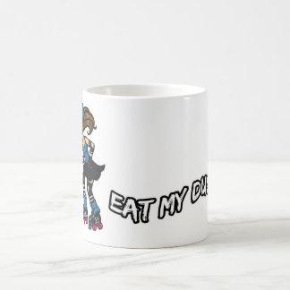Roller Derby Eat my Dust Coffee Mug