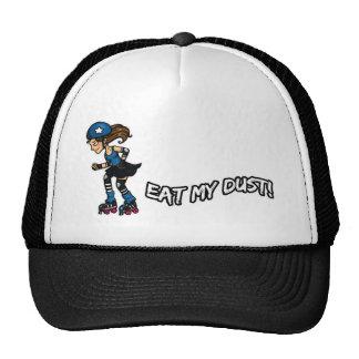 Roller Derby Eat my Dust Trucker Hat