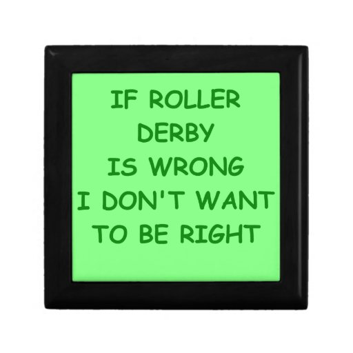 roller derby gift boxes