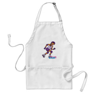 Roller Derby Girl Adult Apron
