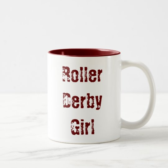 Roller Derby Girl - cup