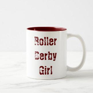 Roller Derby Girl - cup Coffee Mug