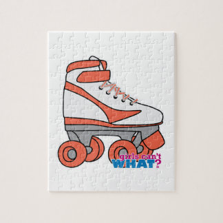 Roller Derby Girl Puzzle