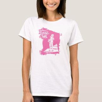 "Roller Derby Girl ""The Long Road"" shirt"