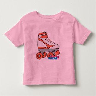 Roller Derby Girl Toddler T-shirt
